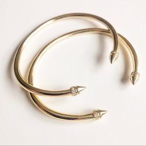 Kendra Scott Gold Bracelet Set
